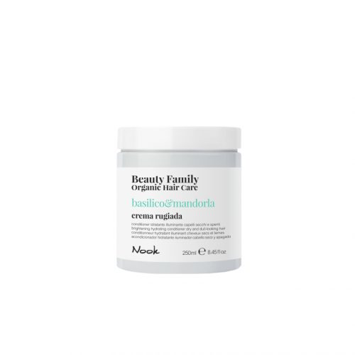 Maxima Nook Beauty Family Organic Hair Care Conditioner Basilico&mandorla