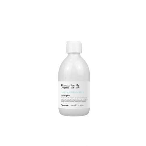 Maxima Nook Beauty Family Organic Hair Care Shampoo Basilico&Mandorla