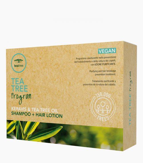 PAUL MITCHELL Tea Tree Program Keravis & Tea Tree Oil Shampoo + Hair Lotion